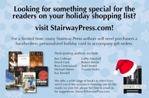 Stairway Press 2013 Holiday Promo AD