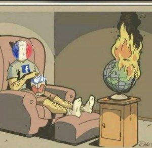 World burn France
